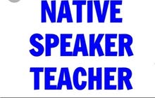 300JD/mon Native English Speaker (preferably from the U S.)
