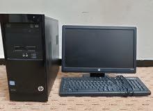 كمبيوتر hp pro شبه جديد