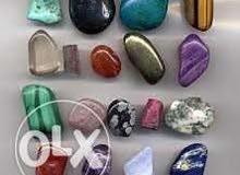 احجار كريمة متنوعة