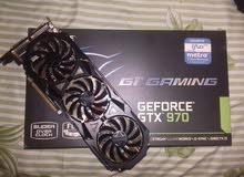 للبيع كارت Gigabyte GTX 970 G1 Gaming 4GB