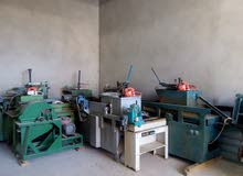 ماكينات نجارة نشارة معدات تامه