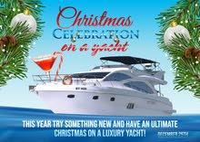 Christmas Celebration on a Luxury Yacht