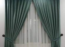 New curtain making with fixing anywhere qatar