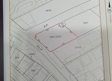 للبيع ارض تجارية على شارعين في موقع مميز تصلح لمركز تجاري