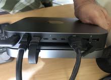 للبيع ماك ميني استعمال خفيف كرت الشاشة تدعم 4K سعره جديد 400دينار وسعر البيع290