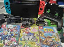 Nintendo switch with games V2