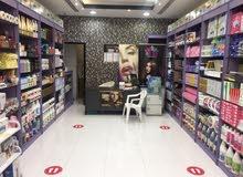 Showroom with Display Shelves