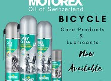 MOTOREX Bicycle Care products Available Now!