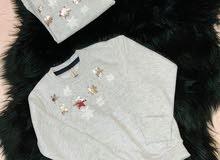 ملابس اطفال بنات توب بناتي شتوي جديد .. يوجد مقاسين مقاس 2-3 / والتاني 3-4