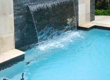 تنفيذ وتشطيب أحواض سباحه من الصفر بأسعار منافسه للسوق من 17000