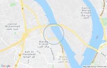 قطعه أرض ع النيل بالوراق للايجار 4000 متر