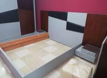 غرفه نوم كبيره للعروسين للبيع+غرفه أطفال+غرفه سفره