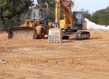 اعمال حفريات وهدم وإزالة المباني