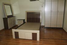 غرفة نوم جديده ركبت ولم تستخدم