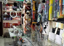 محل زينة سيارات للبيع في أبو علندا شارع الجمرك