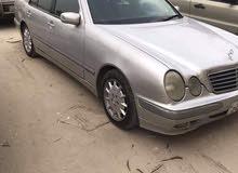 سياره مرسيدس موديل 1999 بحالة ممتازة اربع توير جديد متغيره من الوكالة من شهر