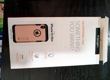 حماية شاشة  زجاجية + و كفر  iPhone 10 XS Max