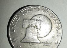 عملة فضية مصنوعة من الفضة الخالص تاريخ(1776)