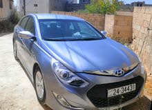 Grey Hyundai Sonata 2015 for rent