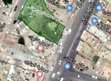 ارض شارعين للبيع تجارية واستثماريه على الخط الدائري وشارع 12 من الخلف