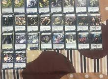 كروت (اوراق لعب) ديول ماسترز duel masters الاصلية