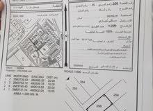 ارض سكني تجاري للبيع في صحار منطقة العوينات خلف المجمع الصحي مط 19 الف فقط