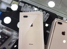 iPhone 8+ 256g  لون ذهبي مستعمل بحالة الوكالة