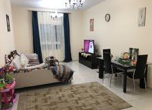 شقة مفروشة للايجار الشهري اول ساكن مساحة كبيرة