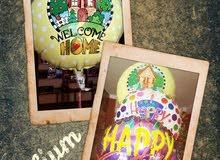بالون هيليوم بأشكال مختلفة للأطفال ولجميع المناسبات
