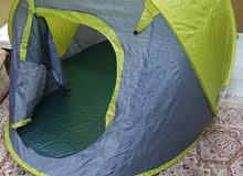 خيمة للبيع سهلة الفتح تتسع ل 3 اشخاص
