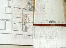 للبيع ارض بي 6 في الحد مع اجازة لبناء 15 شقة