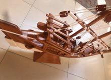سفينة بوا بخشب العاج الاصلي