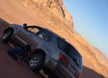 جيب تويوتا عائليه سبع مقاعد للبدل على سياره صغيره