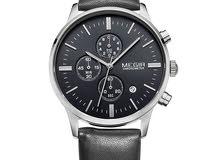 ساعة MEGIR شبه جديدة مع علبة الماركة