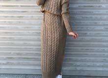 فستان صوف تركي