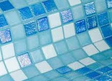 mosaic swimming pool