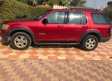 Maroon Ford Explorer 2007 for sale