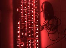 Keyboard and mouse for sale both for 300 dhs only  .