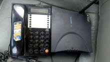 جهاز ريفي شغال من غير عقد ونظيف ومعاه هاتف مستعمل