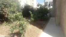 شقة أرضية 210 في خلدا للبيع 135الف مع حديقة 300م