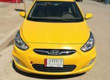 Automatic Orange Hyundai 2015 for sale