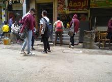 محل يطل علي شارع الدقي الرئيسي وبجوار مكتبه سمير وعلي وعبدالرحيم عمرو وفندق سفير