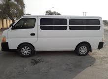 Nissan Van 2010 For Rent - White color
