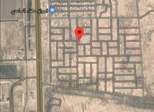 قطعة ارض سكنية  ركن ملك صرف للبيع في الحسينية القسم المجاور للمرور قريبة على الشارع العام