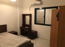 شقة غرفة وصاله مفروشه فى القاسمية- بدون عمولة