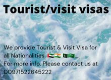 Tourist & Visit Visa For All Nationalities.