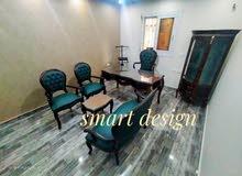 غرفة مكتب كامل خشب زان احمر مطعم بالنحاس خامات عالية الجودة باسعار مناسبه