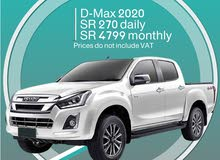 Isuzu D-Max 2020 for rent