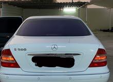 مرسيدس s500 2002 او للبدل