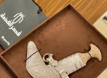 للبيع خنجر عمانيه بقرن الصندل الأصيل